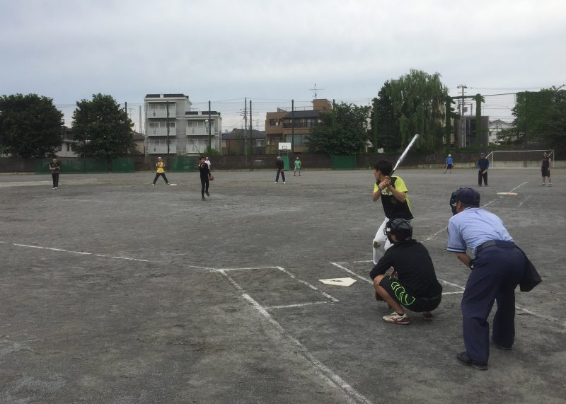 ソフトボール大会の様子-3