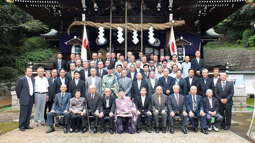 馬絹神社 社殿竣工30周年記念式典を開催