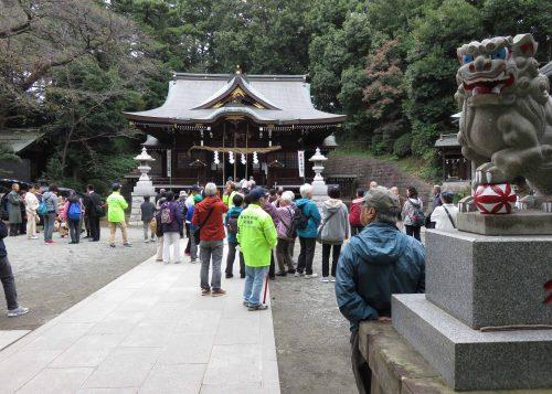 馬絹神社 (ゴール)