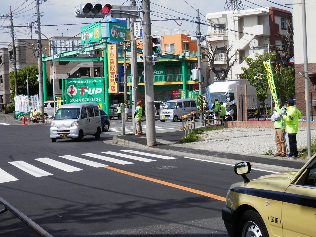 2018春の交通安全運動