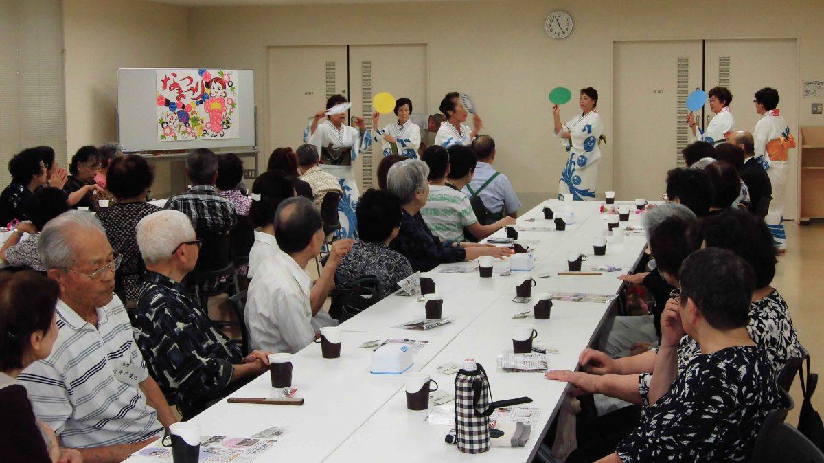 宮前第三地区社協 ひとり暮らし高齢者の会食会