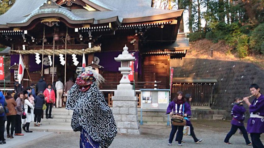 平成31年 初詣は馬絹神社で