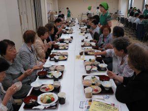一人暮らし高齢者会食会1
