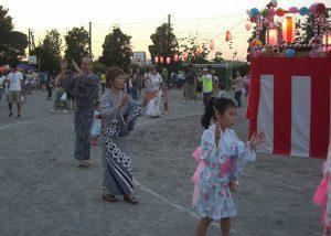 盆踊り大会の様子-2