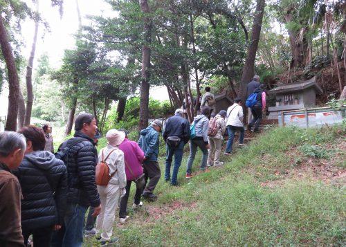 三島神社跡