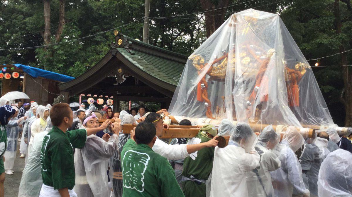 平成29年度 馬絹神社 秋季例大祭 開催される