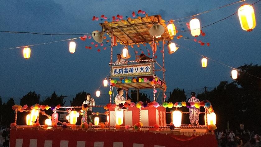 第28回馬絹町内会盆踊り大会が開催されました