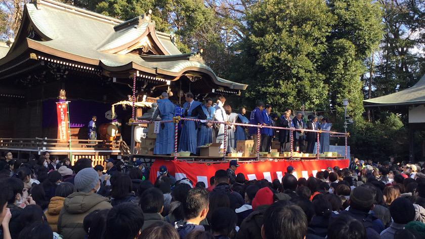 令和2年 豆まき 馬絹神社節分祭のお知らせ